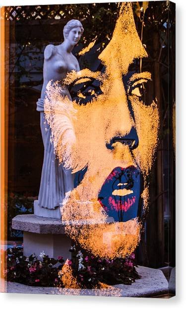 Mick Reflecting Canvas Print