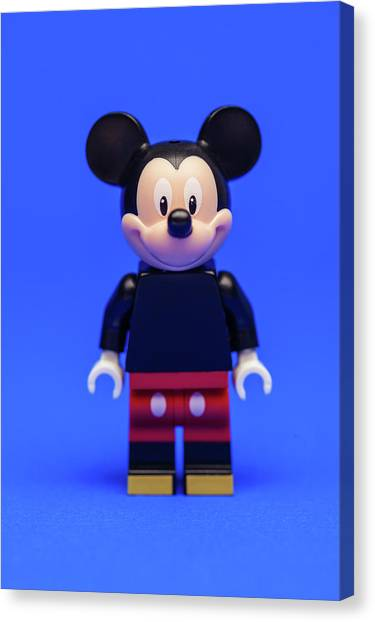 Mice Canvas Print - Mickey Mouse by Samuel Whitton