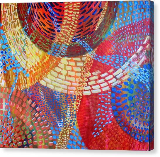 Microcosm IIi Canvas Print by Rollin Kocsis