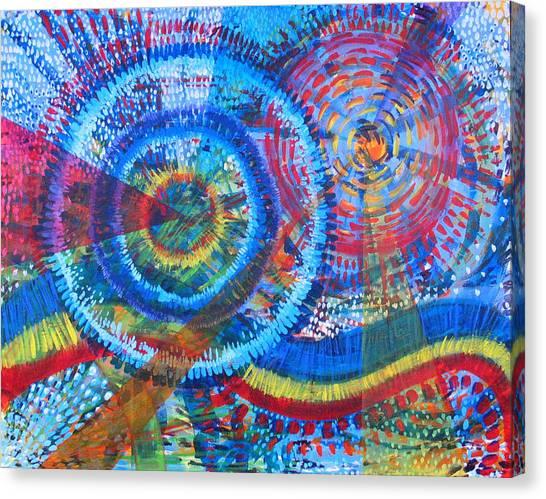 Microcosm V Canvas Print by Rollin Kocsis