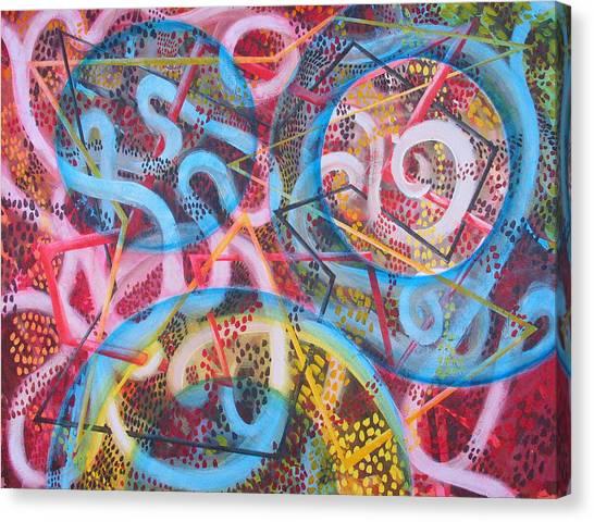 Microcosm Xii Canvas Print by Rollin Kocsis