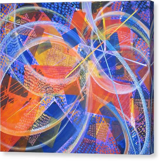 Microcosm Xiii Canvas Print by Rollin Kocsis