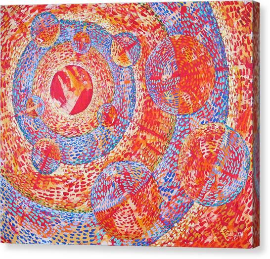 Microcosm Xviii Canvas Print by Rollin Kocsis