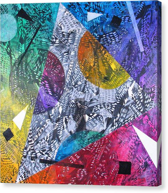 Microcosm Xx Canvas Print by Rollin Kocsis