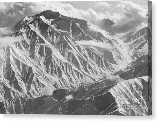 Hindu Kush Canvas Print - Mid Winter In The Hindu Kush Mountains by Tim Grams
