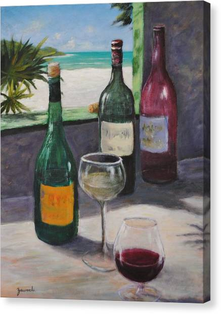 Midday Wine Canvas Print