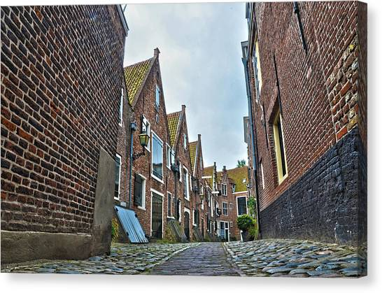 Middelburg Alley Canvas Print
