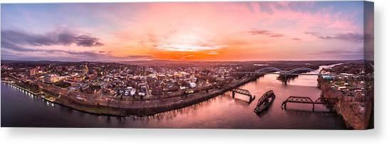 Middletown Connecticut Sunset Canvas Print