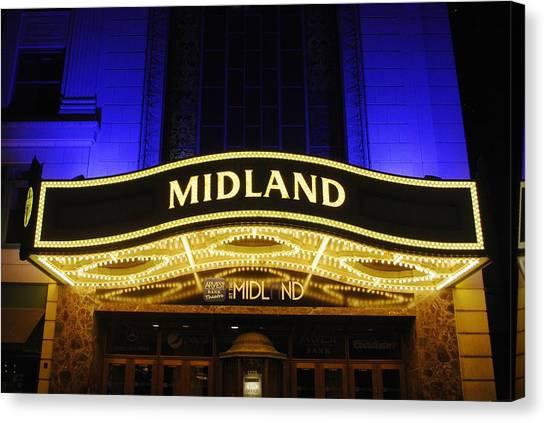 Midland Theater Canvas Print