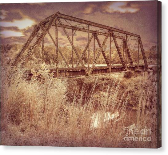 Midnight Crossing Canvas Print