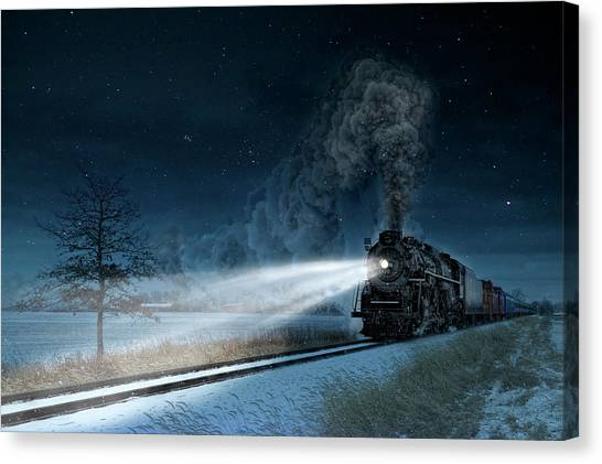 Marquette University Canvas Print - Midnight Express by Pat Eisenberger