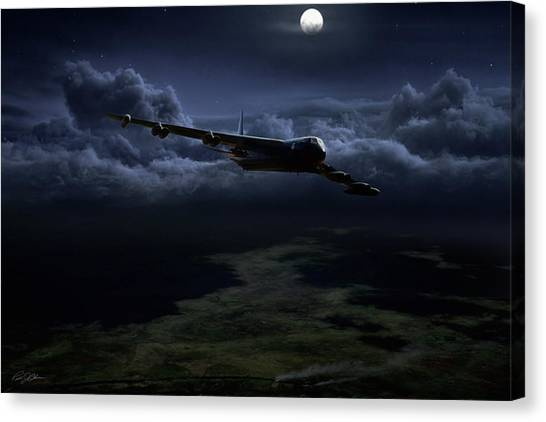 Linebackers Canvas Print - Midnight Express by Peter Chilelli