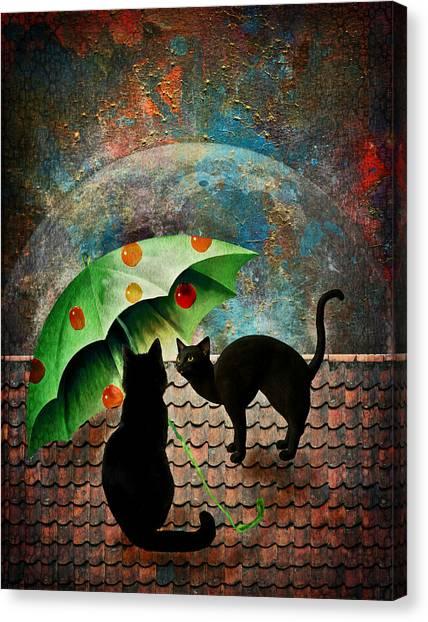 Midnight Love 3 Canvas Print