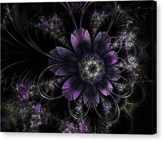 Midnight Mistletoe Canvas Print