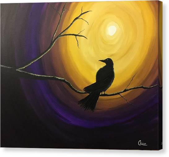 Midnight Raven Canvas Print