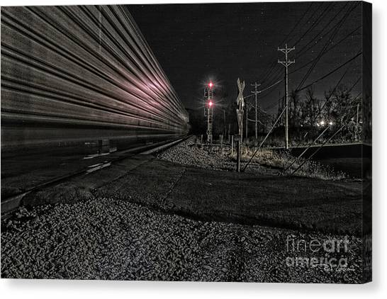 Midnight Rider Ir Canvas Print