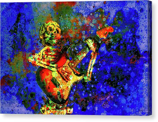 Canvas Print featuring the photograph Midnight Serenade by Jeff Gettis
