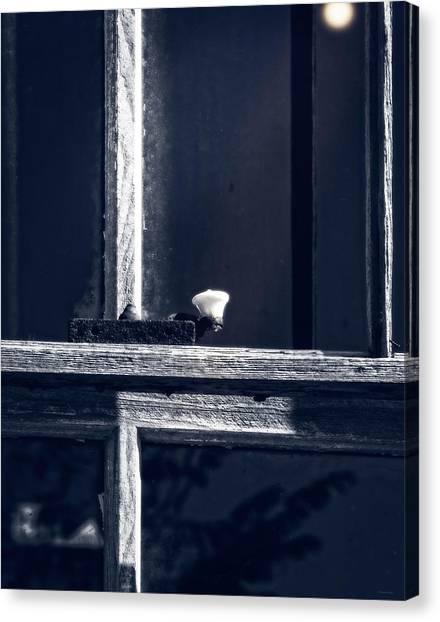 Midnight Window Canvas Print