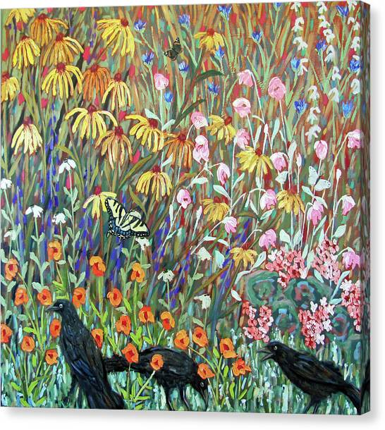 Midsummer Enchantment- Diptych Side B Canvas Print
