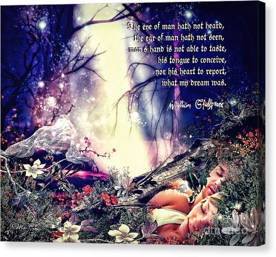 Midsummer Night Dream Canvas Print