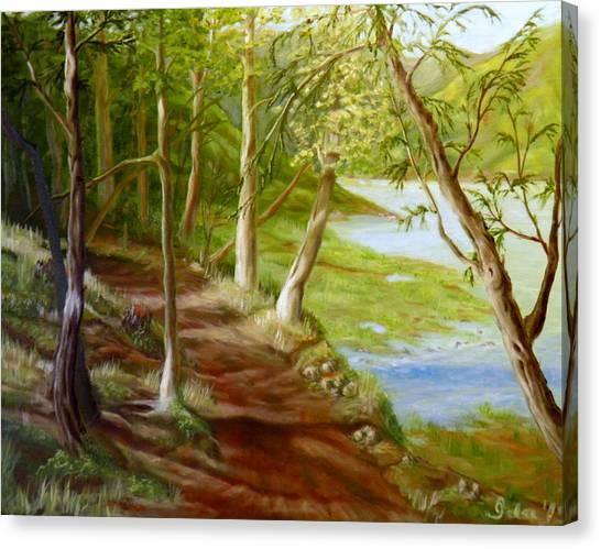 Midsummer Walk Canvas Print