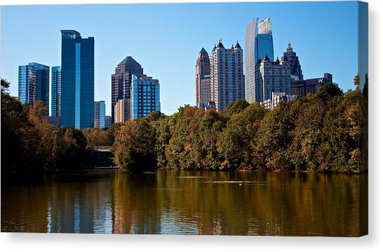 Midtown In The Fall Canvas Print