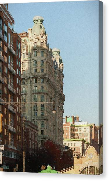 Midtown Manhattan Apartments Canvas Print