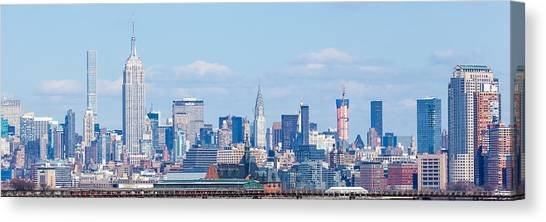 Midtown Manhattan Skyline Canvas Print by Erin Cadigan