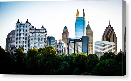 Midtown Skyline Canvas Print