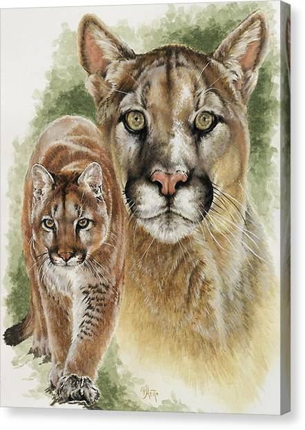 Canvas Print - Mighty by Barbara Keith