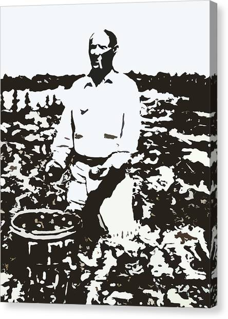 Migrant Farmer Canvas Print
