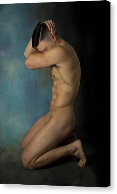 Sensual Canvas Print - Mike Amazing Moment  by Mark Ashkenazi
