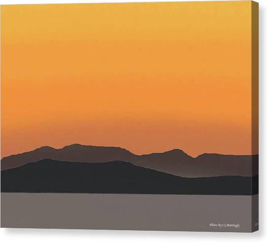 Mykonos Sunset Canvas Print