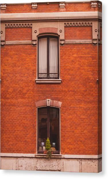 Street Scenes Canvas Print - Milano 07 by Cornelia Vogt