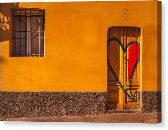 Street Scenes Canvas Print - Milano 33 by Cornelia Vogt