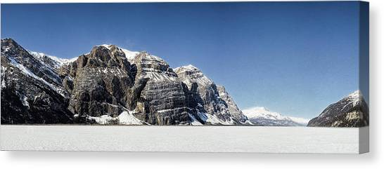 Mile High Cliffs Canvas Print