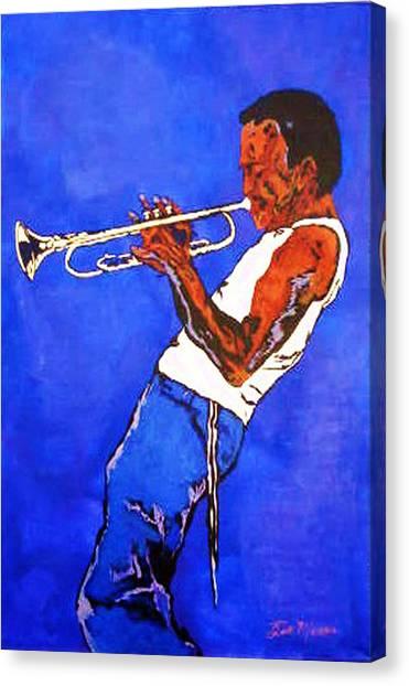 Miles Davis-miles And Miles Away Canvas Print