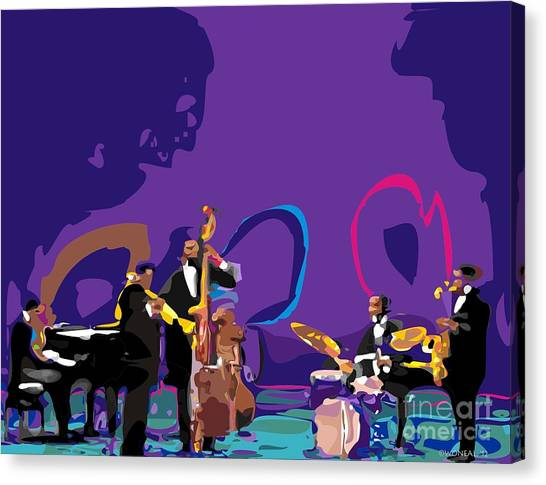 The Miles Davis Quintet Canvas Print