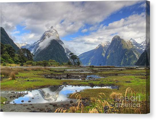 Milford Mirror Canvas Print