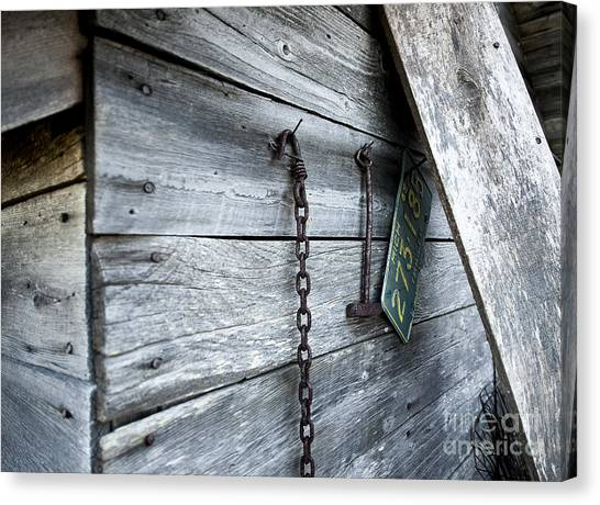 Milk Shed Canvas Print