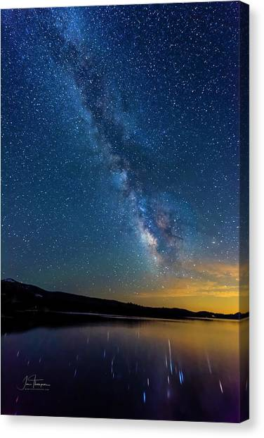 Canvas Print featuring the photograph Milky Way 6 by Jim Thompson