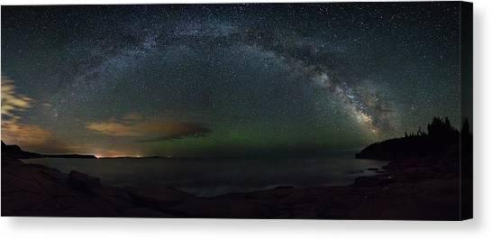 Milky Way Arch Canvas Print