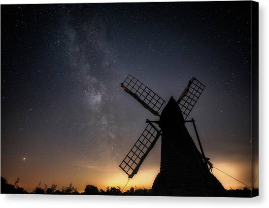 Milky Way At Wicken Canvas Print
