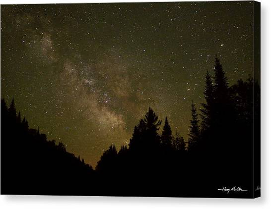 Milky Way In The Whites Canvas Print