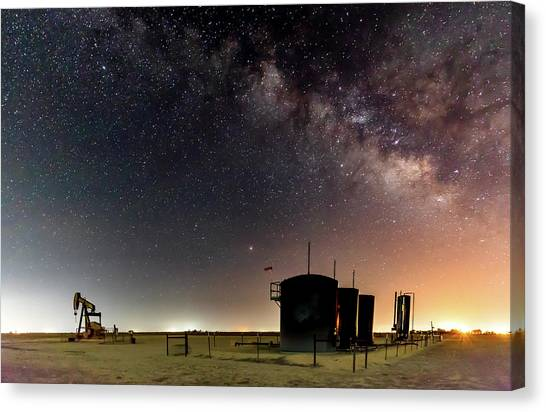 Milky Way Lease Canvas Print