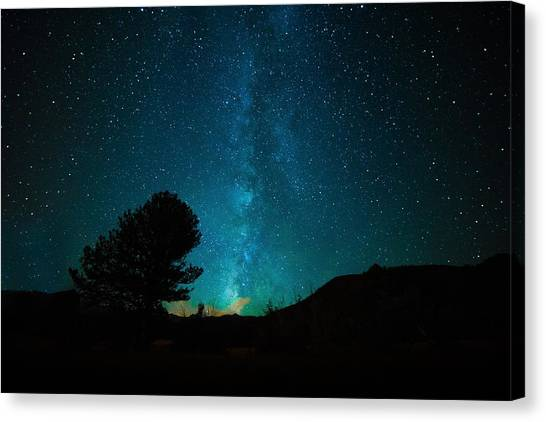 Canvas Print - Milky Way by Starry Night