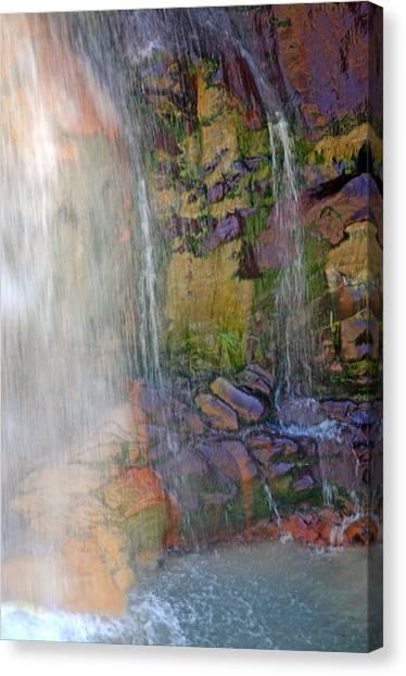 Mill Creek Falls 1 Canvas Print