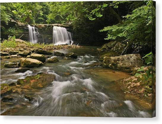 Mill Creek Falls  West Virginia Canvas Print