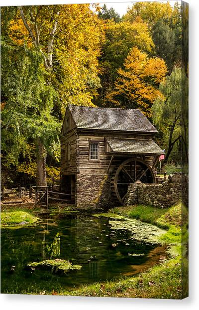 Mill Pond Canvas Print