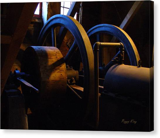 Mill Power Canvas Print